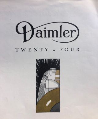 Daimler Twenty-Four.