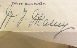 Signature. William Ferguson Massey