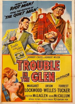 Trouble in the Glen. Movie poster