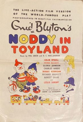 Noddy in Toyland. Movie poster