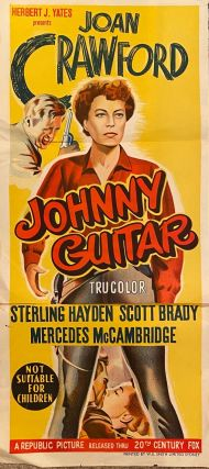 Johnny Guitar. Movie poster